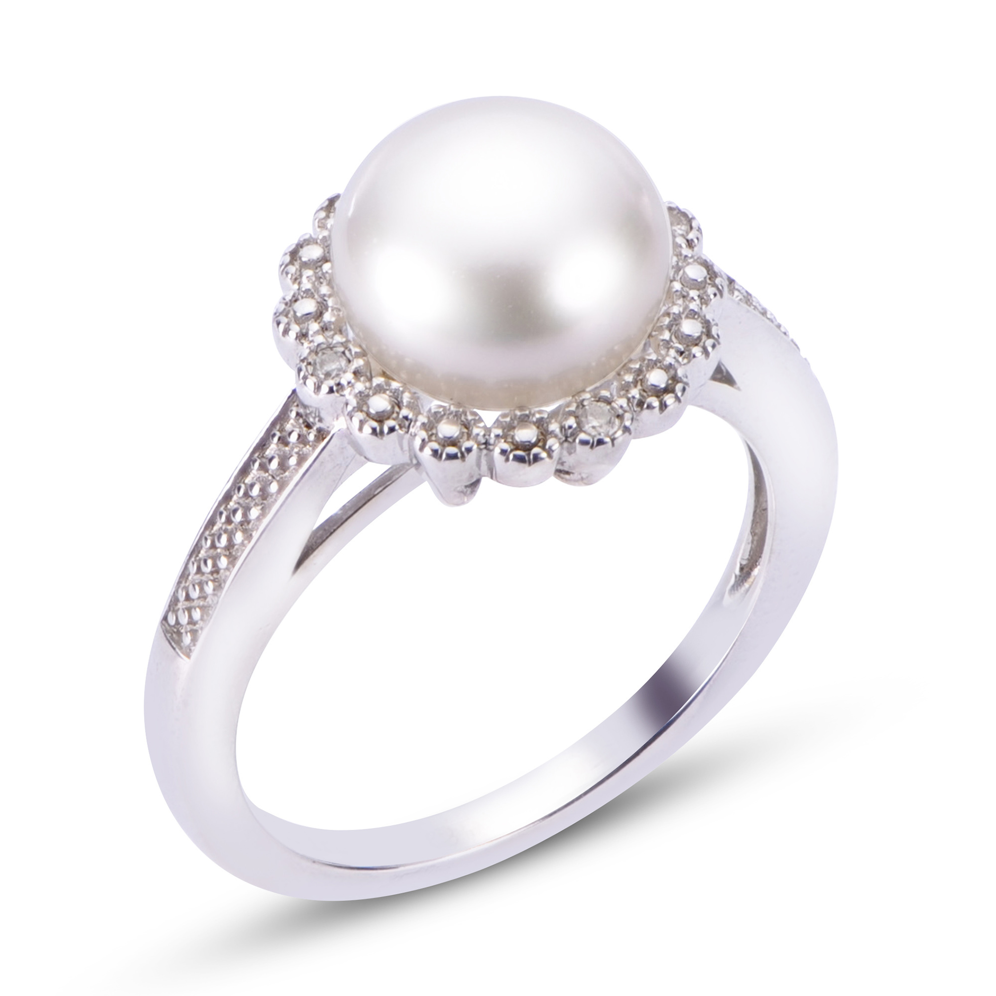silver white wedding unique halo sterling gold pearl ring mabe rings majorica amp set square of engagement