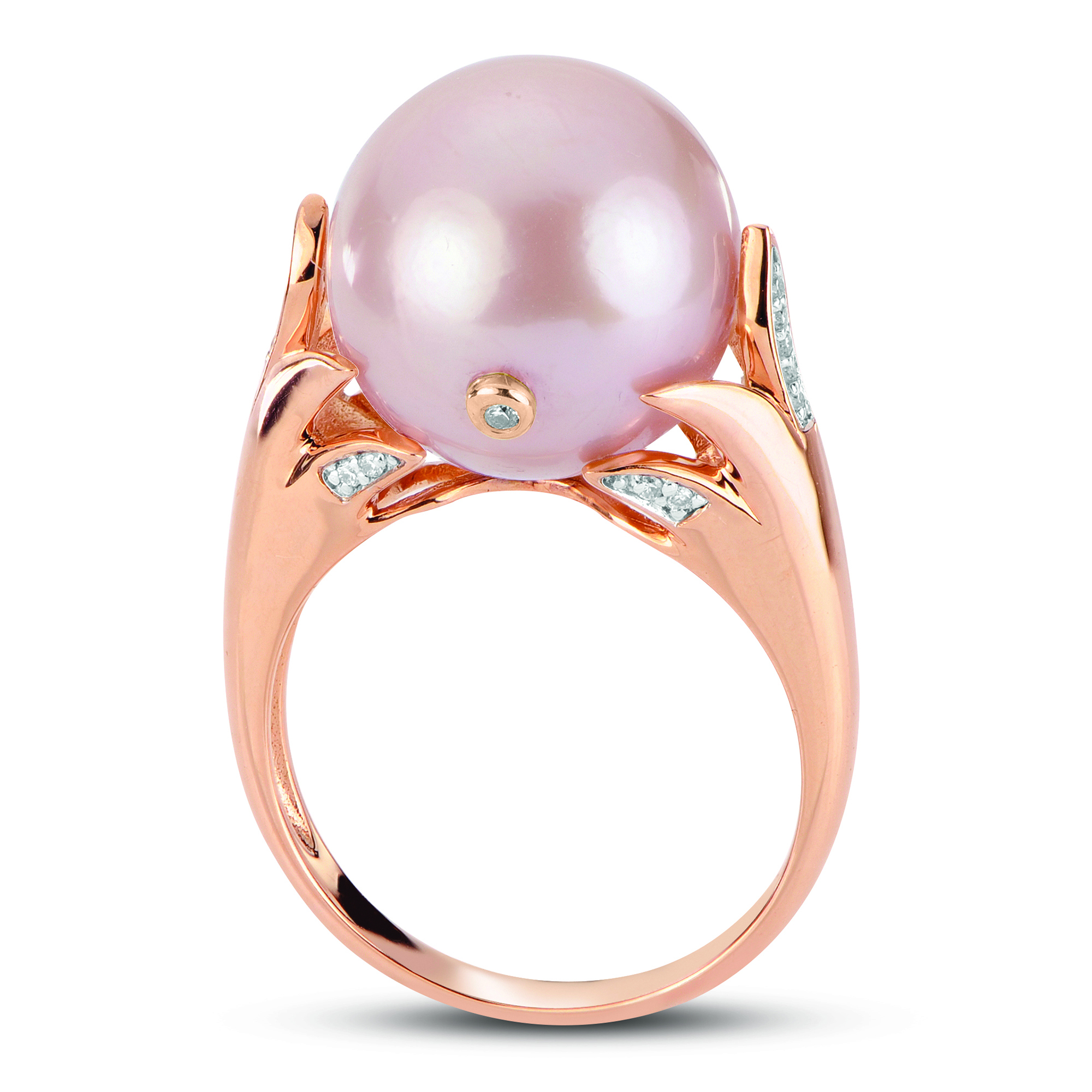 66867c036 Home > Jewelry > Rings > 14K Rose Gold Freshwater Pearl Ring. 🔍.  919948RG-510x510