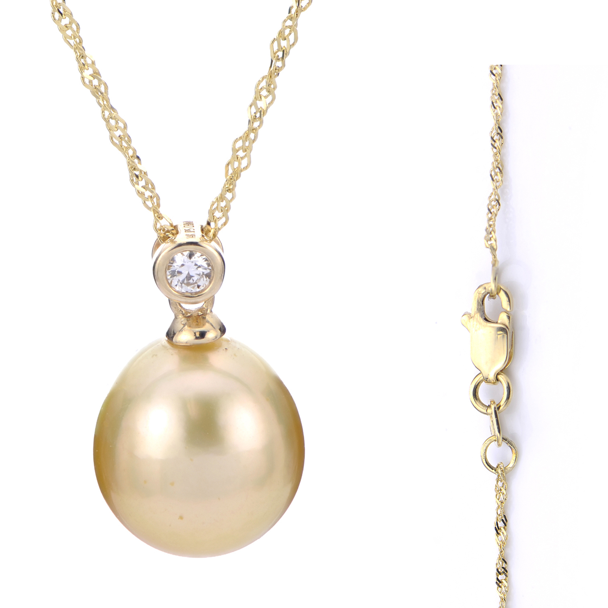 14k yellow gold golden south sea pearl pendant cooper binkley 14k yellow gold golden south sea pearl pendant aloadofball Image collections