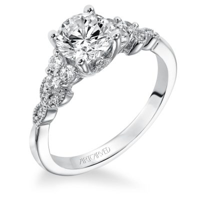Artcarved Engagement Ring - 31-v309erw-e_angle