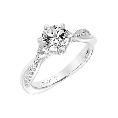 Artcarved Engagement Ring - 31-v775erw-e_angle