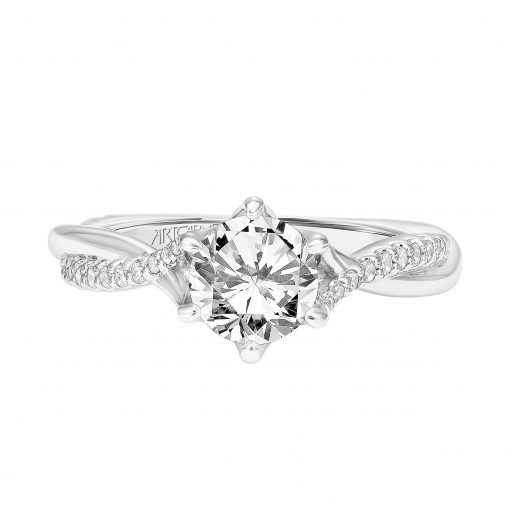 Artcarved Engagement Ring - 31-v775erw-e_flat