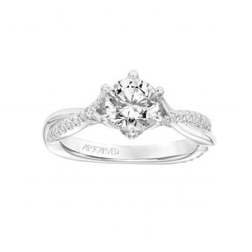 Artcarved Engagement Ring - 31-v775erw-e_top