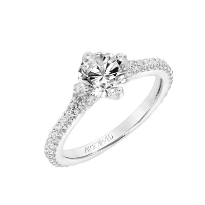Artcarved Engagement Ring - 31-v778erw-e_angle