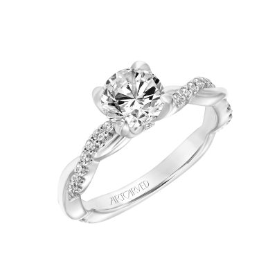 Artcarved Engagement Ring - 31-v782erw-e_angle