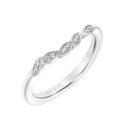Artcarved Bridal Jewelry - 31-v783w-l_angle