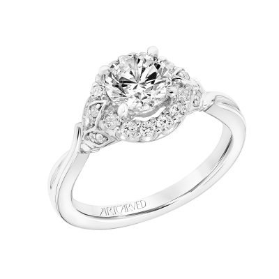 Artcarved Engagement Ring - 31-v785erw-e_angle