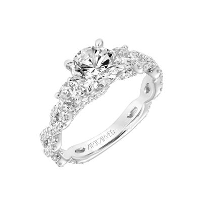 Artcarved Engagement Ring - 31-v786erw-e_angle